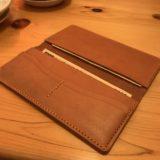 革財布を作った僕は、無駄に綺麗なお札を持ち歩く。